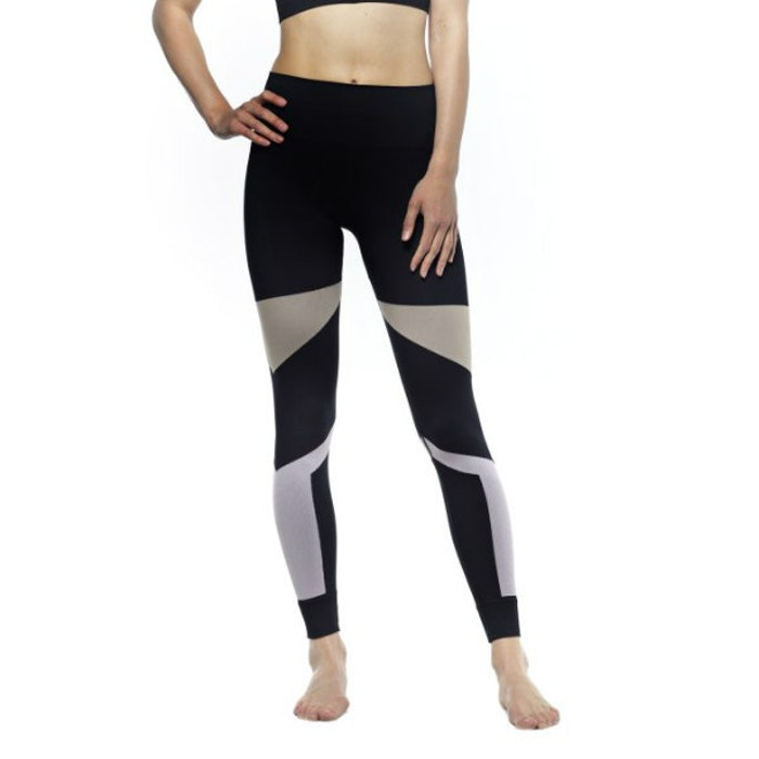 Yogaleggings Multicolor Black, Sand, Rose - Run & Relax