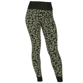 Yogaleggings Leopard Black, & Sand - Run & Relax