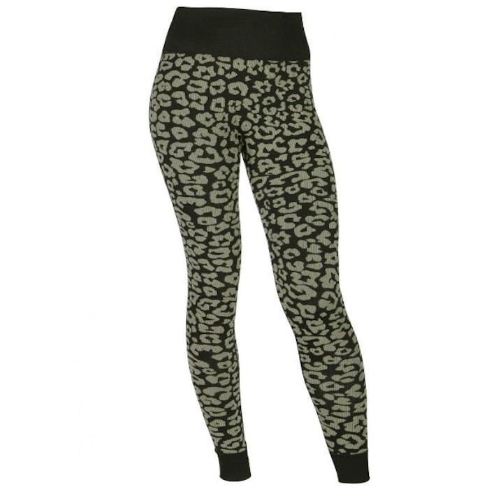 Yogaleggings Leopard Black, & Sand - Run & Relax