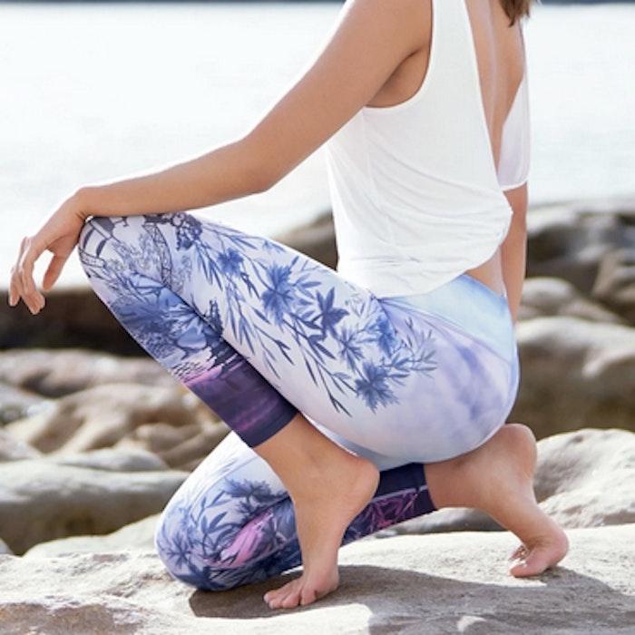 Yogaleggings Odyssey 7/8 - Dharma Bums