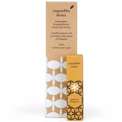 Kroppsolja Yogandha 2-pack - Detox/Yogaolja Salute