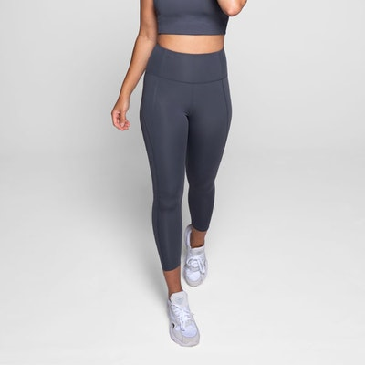 Yoga leggings High rise Long Smoke Moon  - Girlfriend Collective