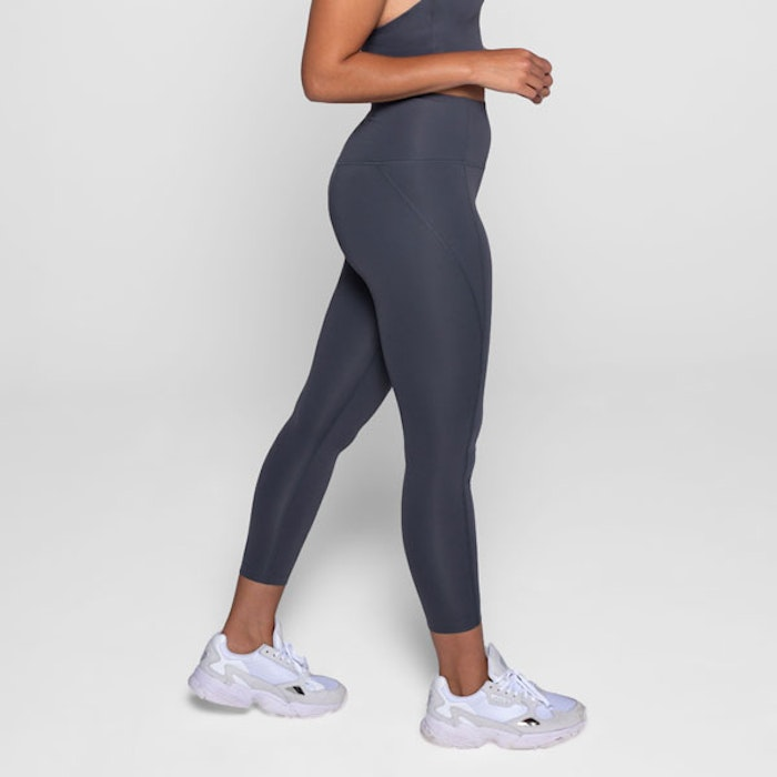 Yoga leggings High rise Long Smoke  - Girlfriend Collective