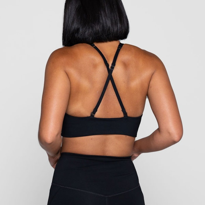 Sport-BH Yoga Topanga Black - Girlfriend Collective