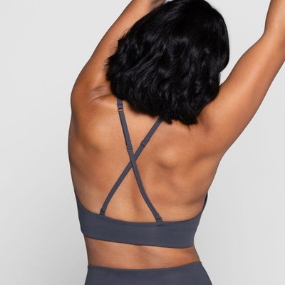 Sport-BH Yoga Topanga Smoke - Girlfriend Collective