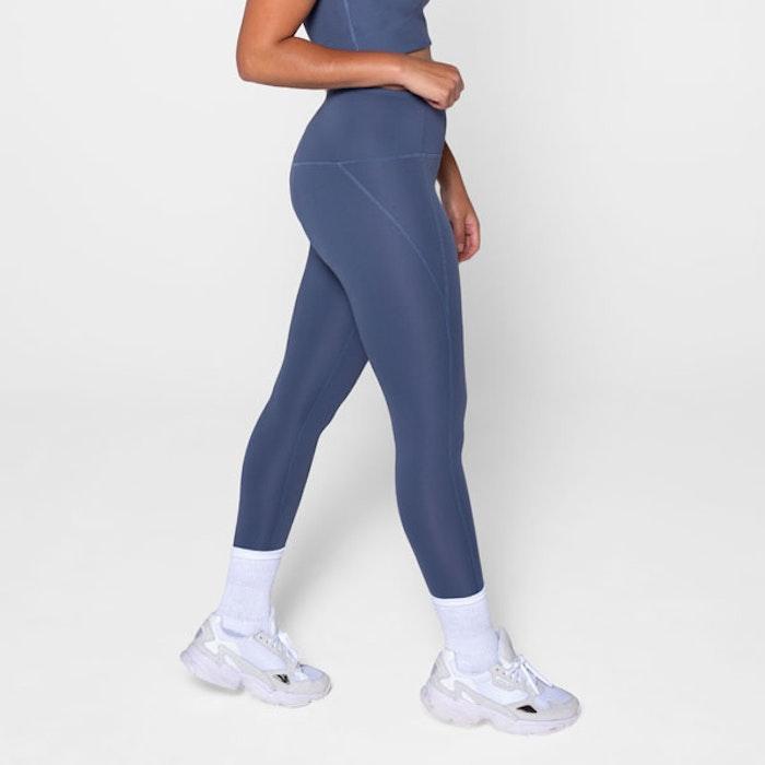 Yoga leggings High rise 7/8 Tanzanite  - Girlfriend Collective