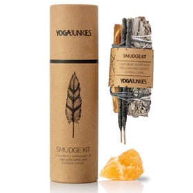 Smudge kit med Orange Kalcit och Mayan Copal - Yoga Junkies