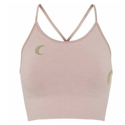 Sport-BH Yoga Solstice Midi Top Rosé/Gold - Moonchild Yogawear