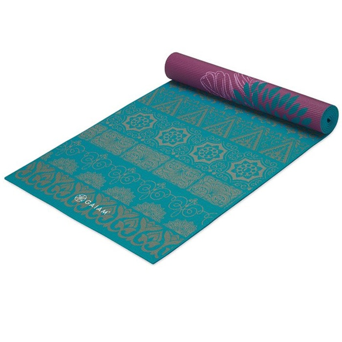 Yogamatta 6mm Reversible Kiku - Gaiam