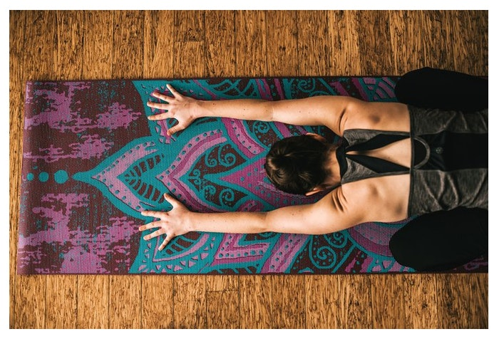 Yogamatta 6mm Reversible Be Free - Gaiam