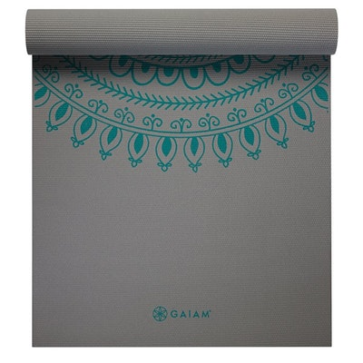 Yogamatta 6mm Teal Marrakesh Longer & Wider - Gaiam