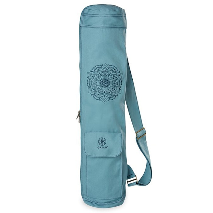 Yogaväska Embroidered Cargo Mat Bag Niagara - Gaiam