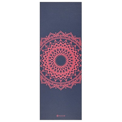 Yogamatta 4mm Pink Marrakesh - Gaiam