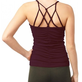 Yogalinne Cable Top Wine - Mandala