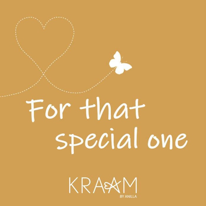 "Massage/doftljus ""For that special one"" - Kraam by Anilla"