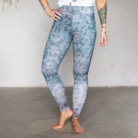 Yogaleggings Grey Leopard - Soul Factory