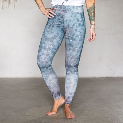 Yogaleggings Grey Leopard - Yogia