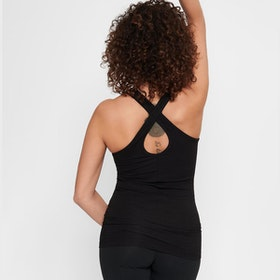 Yogatopp/linne Prana Black - Urban Goddess