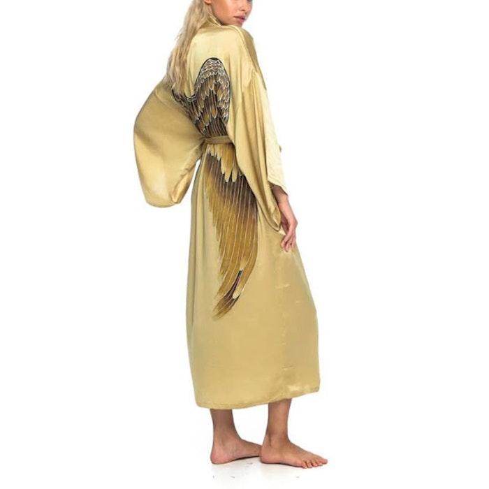 "Silk angelwings Bathrobe ""Golden Goddess"" - Warriors of the divine"