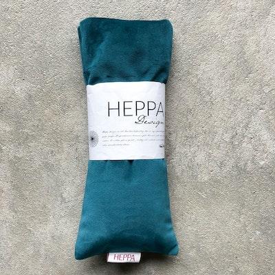 Ögonkudde Turkos sammet - Heppa Design