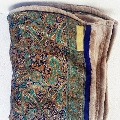 Yogafilt Sari/silke Aqua - E-swiss