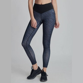 Yogaleggings BOW II ZEBRA - DOM