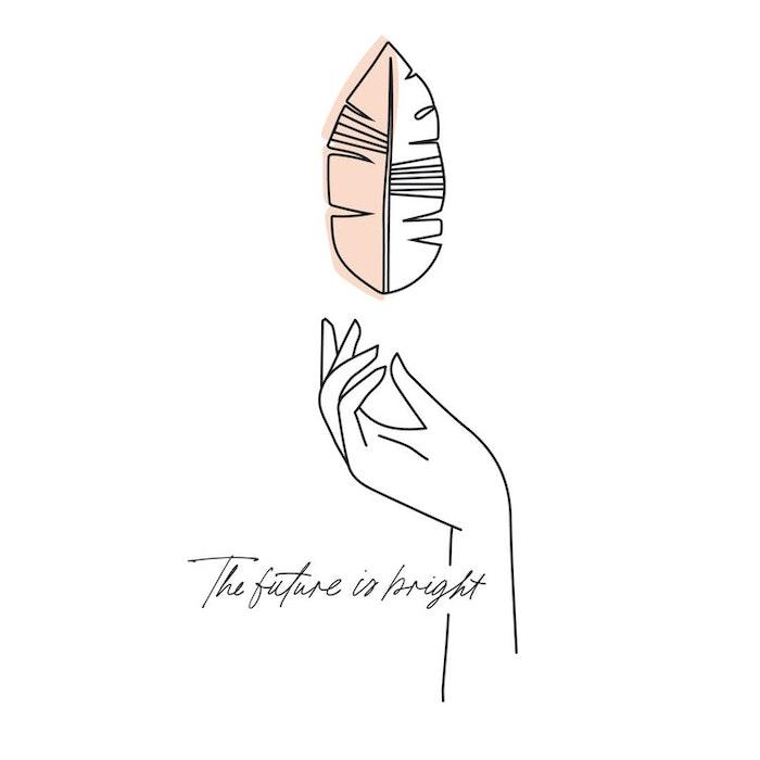 Tröja THE FUTURE IS BRIGHT - Santa Ni / Yogia