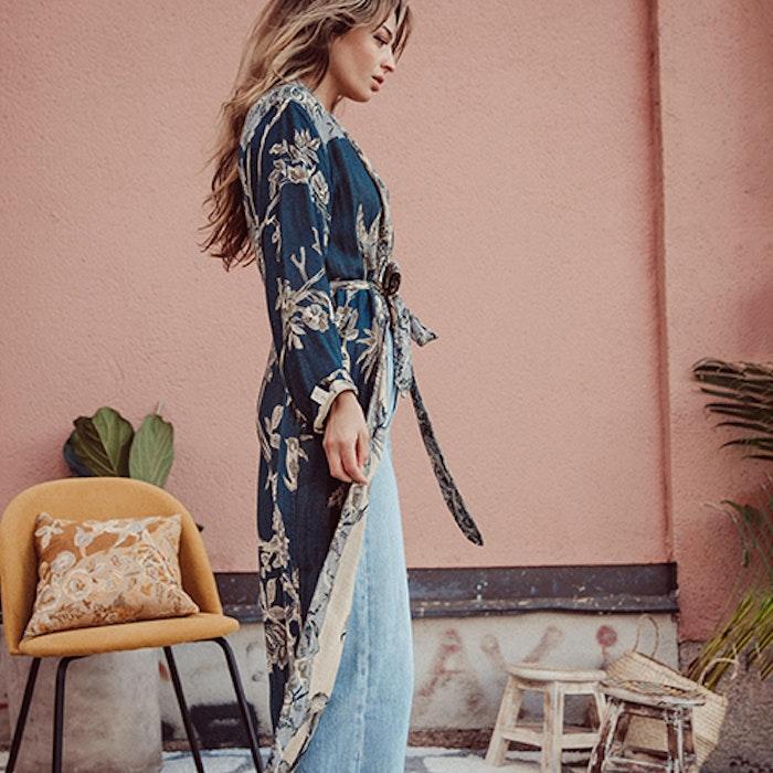 """Exklusiv kimono """"Deep Blue Sea"""" - Brahmaki"""