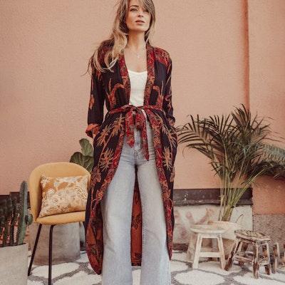 "Exklusiv kimono ""September Sky"" - Brahmaki"
