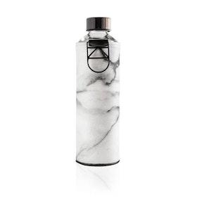 Vattenflaska Mismatch Stone i glas - Equa