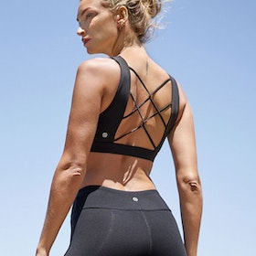 Sport-BH Yoga Lace Up Black - Dharma Bums