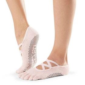 Yogastrumpor Elle Crystal  Fulltoe - Toesox