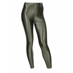 Yogaleggings Shine Camo Green - Run & Relax