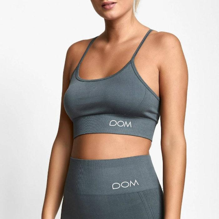 Sport-BH Yoga Seamless Trinity Grey - DOM