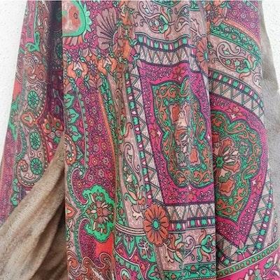 Yogafilt Sari/silke Etnia - E-swiss