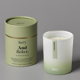 "Doftljus aromterapi ""And Relax"" - Aery Living"