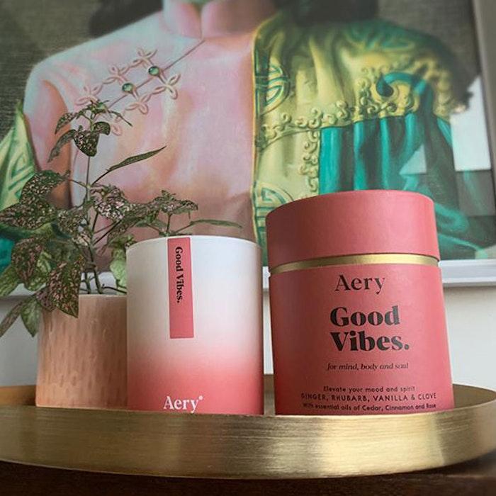 "Doftljus aromterapi ""Good Vibes"" - Aery Living"