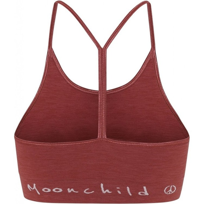 Sport-BH Yoga Seamless Zen Top Marsala - Moonchild Yogawear