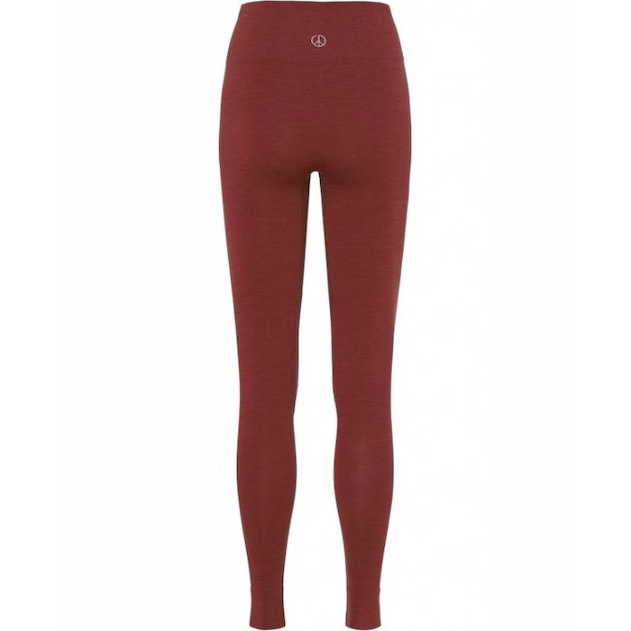 Yogaleggings Seamless Marsala - Moonchild Yogawear