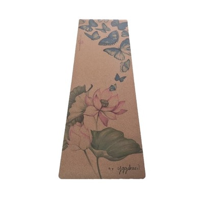 "Yogamatta travelmat Kork ""The practice of life"" - Yggdrasil"