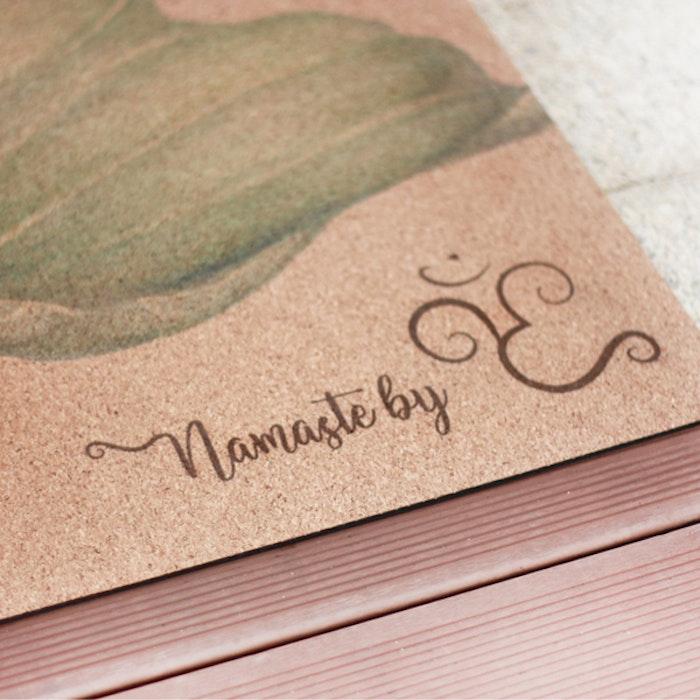 "Yogamatta travelmat Kork ""The practice of life"" - Yggdrasil"
