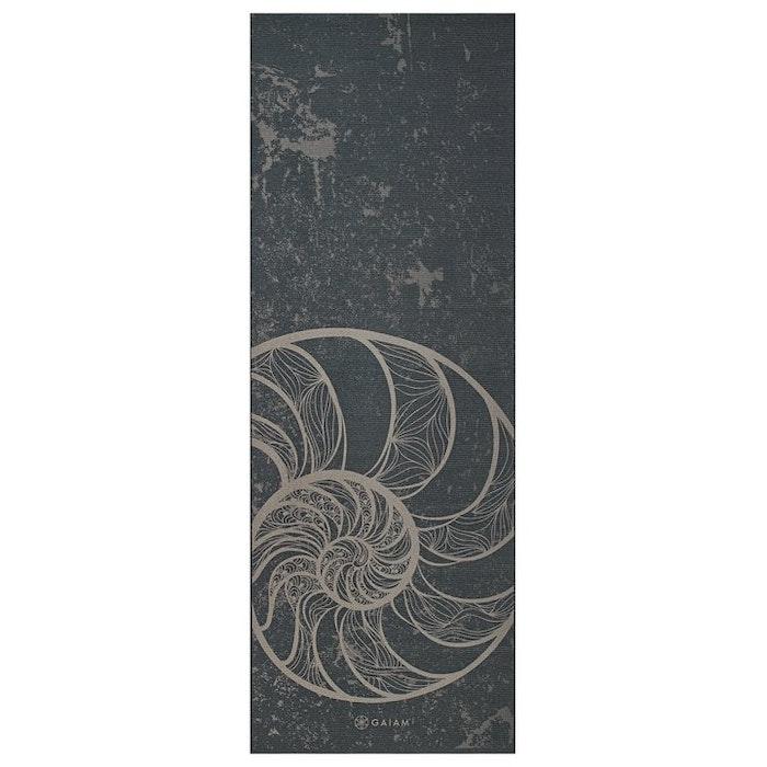 Yogamatta 6mm Reversible Spiral Motion - Gaiam