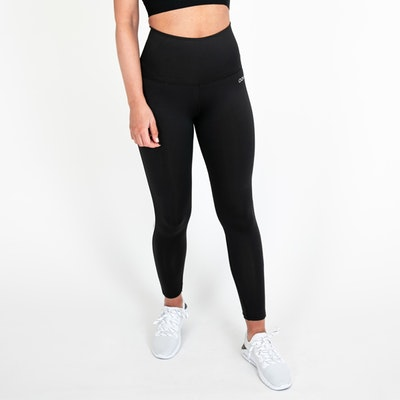 Yogaleggings Eden Piped Black - DOM