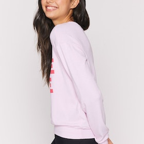 "Tröja ""More Love"" Savasana Pullover Pink Orchid - Spiritual Gangster"