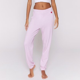 Byxor Heart Sessions Sweatpants Pink orcid - Spiritual Gangster