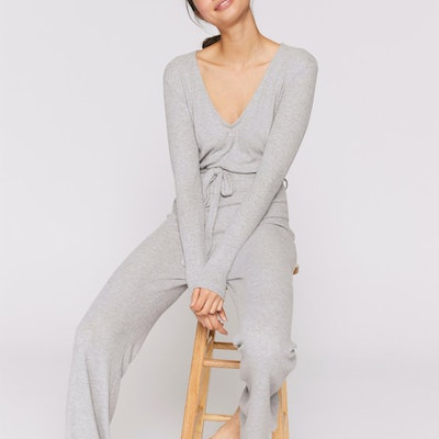 Jumpsuit Sophie Heather grey - Spiritual Gangster