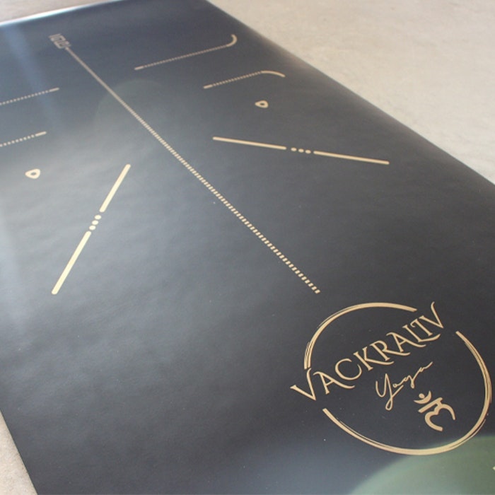 Yogamatta Assist 183x61 cm + Yogaväska - Vackraliv