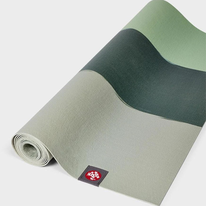 Yogamatta SuperLite travelmat Green Ash Stripe - Manduka