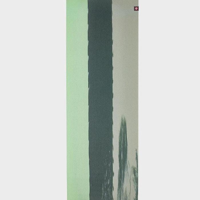 Yogamatta SuperLite travelmat Green Ash Stripe - Manduka