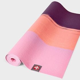 Yogamatta SuperLite travelmat Fuchsia Stripe - Manduka